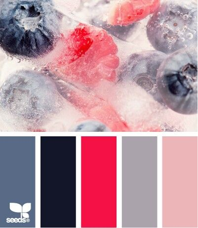 Holiday hues palette