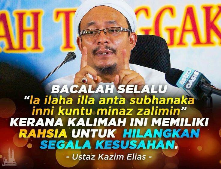 Pesan Ustaz Kazim
