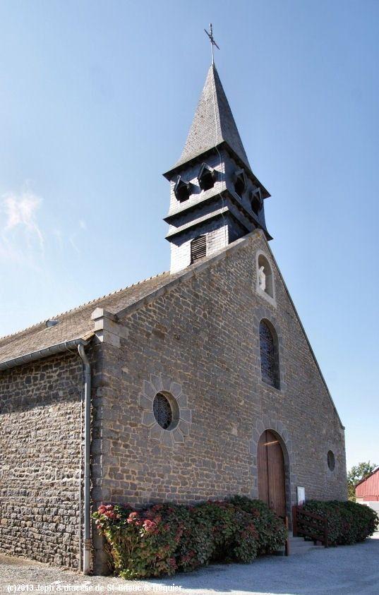 Église St-Judoce, à Saint-Judoce.