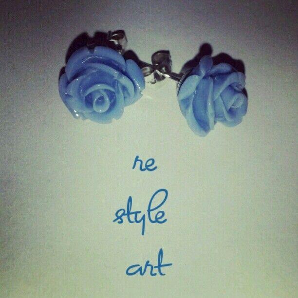 ~RoseBuds in blue