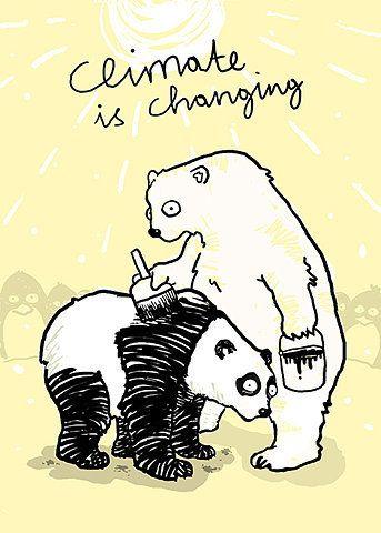 Those poor polar bears.
