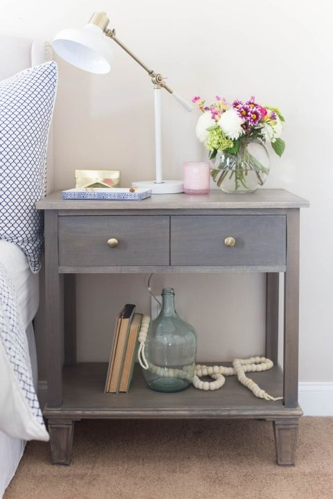 1000 ideas about refinished nightstand on pinterest for Little girls nightstand
