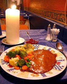 Norwegian cuisine - reinsdyrsteik, reindeer steak