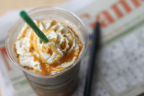 fashion in my soul ☮: Starbucks Yummmmm, Caramel Frap, Image, Starbucks Frappe, Dashboards, Starbucks Caramel, Photo, Food Drinks