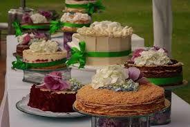 Resultado de imagen para torta de boda campestre por separado