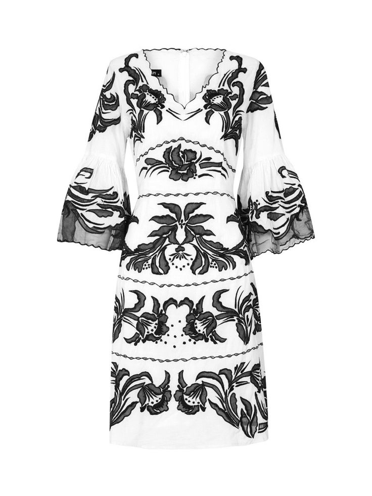 Moss and Spy - Arielle Dress Black And White