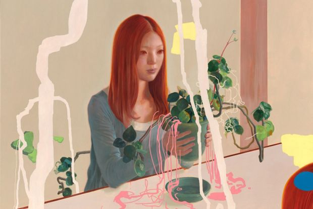"""Image of James Jean """"Parallel Lives"""" Exhibition @ Tilton Gallery"""