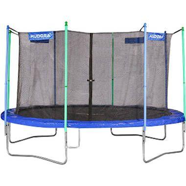 Hudora fitness trampoline 400 trampoline  Springplezier in de tuin voor groot en klein. Met deze trampoline met een supergrote doorsnede van 400 cm kan je supersprongen maken. Het zwarte springdoek is met 80 spiraalveren bevestigd. De stabiele U-voeten zorgen voor extra...  EUR 343.95  Meer informatie  #blokker