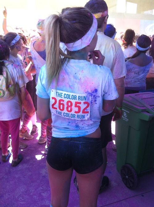 color run!diet-andexercise:    pr0gression:    my friend brought to my attention there is a color run by me in July. I think I'm gunna try to do it ! sounds fun!    id love to do it