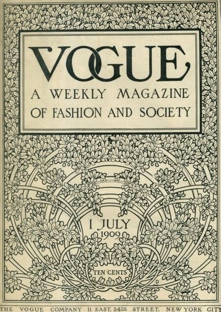 Vogue old cover