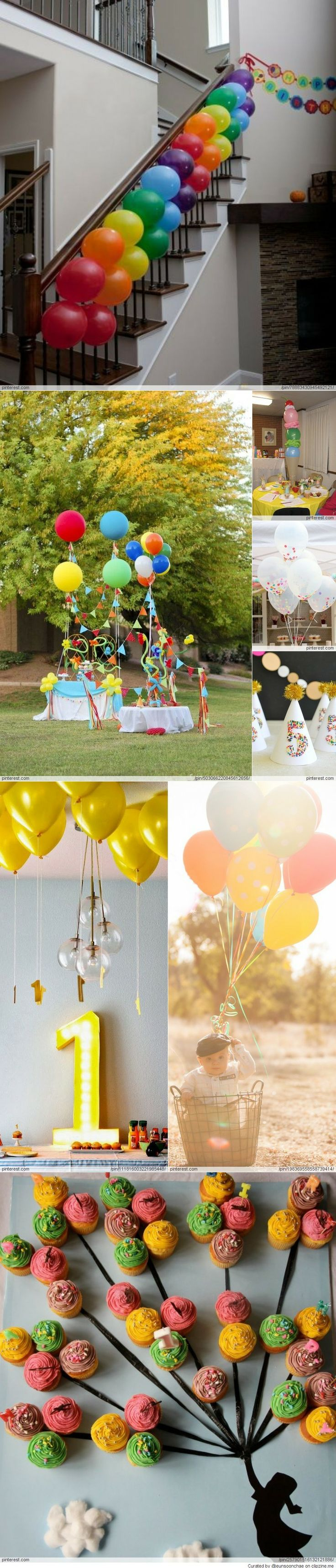 Birthday Party Ideas with Balloons Best 17