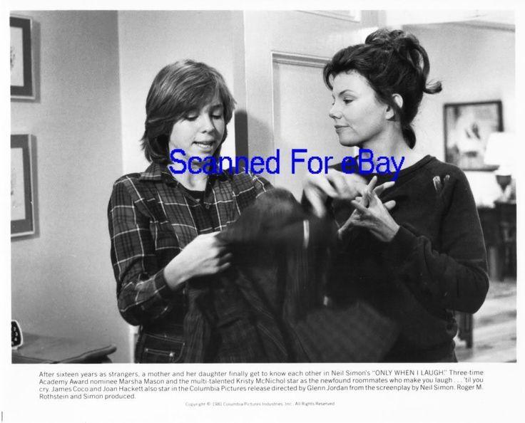 KRISTY McNICHOL, MARSHA MASON Movie Photo ONLY WHEN I.. | eBay