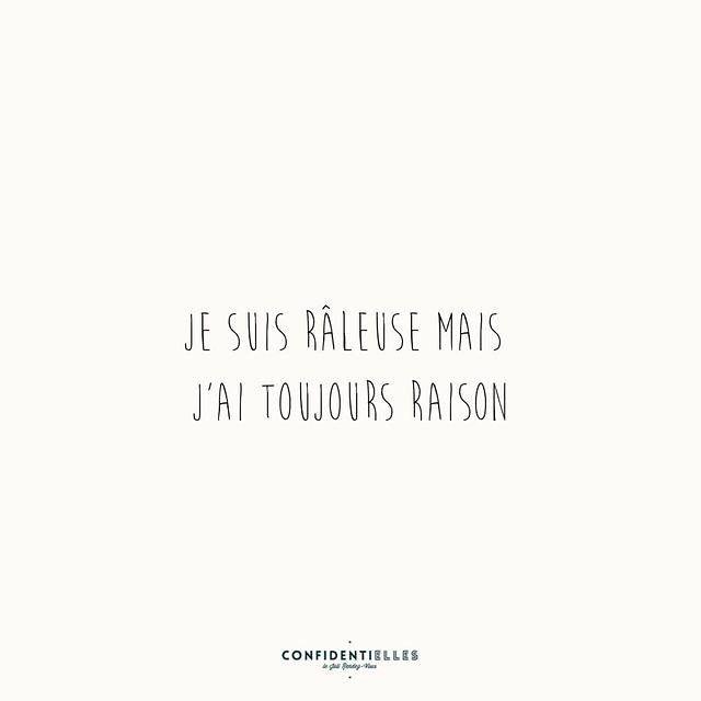 #raleuse #confidentielles