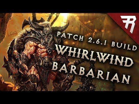 [2.6.1/S12] Whirlwind Barb GR 110+ - Barbarian - Diablo III Builds - Diablo Fans