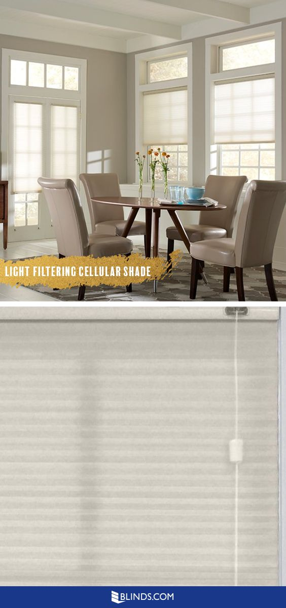 get privacy and glowy light light filtering cellular shades give windows complete coverage while allowing