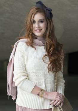 Marina Ruy Barbosa se recusou a raspar o cabelo em 2013 quando atuava na novela 'Amor à Vida' - Divulgação, TV Globo
