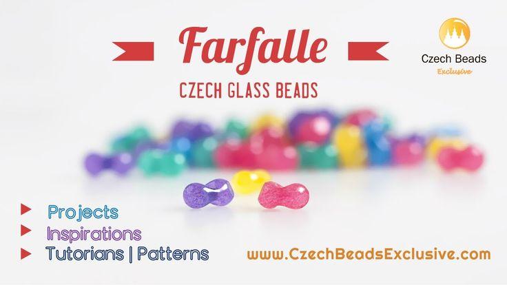 Video ● Czech Glass Farfalle Beads – Butterflies That Will Never Fly Away! https://czechbeadsexclusive.com/czech-glass-farfalle-beads-butterflies-that-will-never-fly-away/