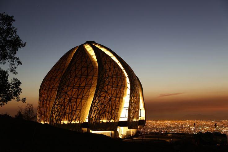 Bahá'í Temple,Courtesy of Asamblea Espiritual Nacional de los Bah·'Ìs de Chile + Hariri Pontarini Architects