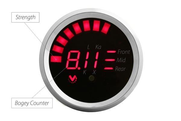 valentine one gauge