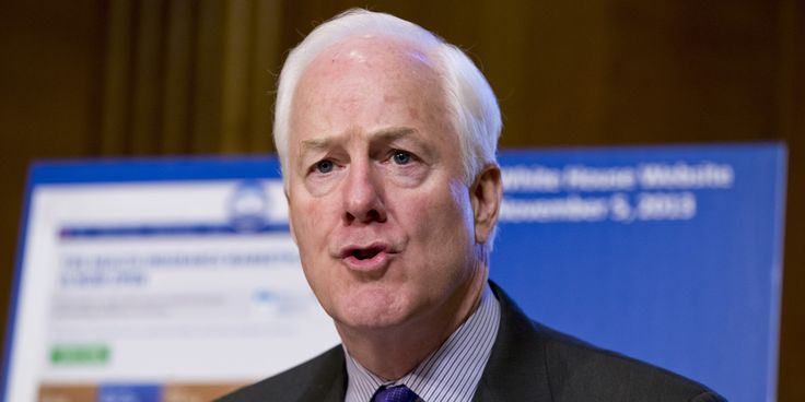 It was predictable that GOP hawks like Senator Lindsay Graham (R-SC) wouldn't love the historic deal the Obama administration reached with Iran on Saturday night. But Texas Senator John Cornyn had a unique, if completely bizarre, take on the agreement: