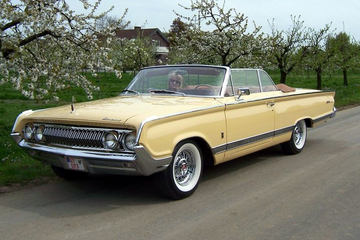 1964 Mercury Park Lane Convertible Mercury Cars American