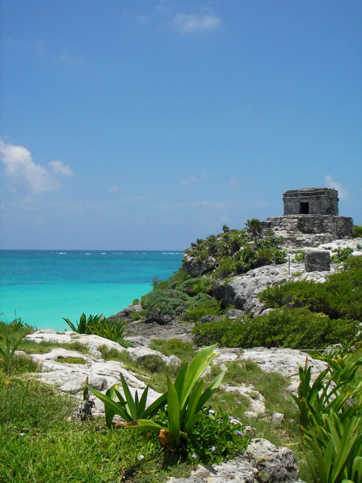tulum, mayan ruins in mexico.  amazing.