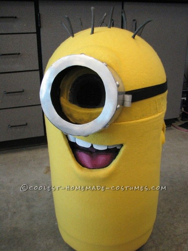 Coolest Homemade Despicable Me Minion Costume Get