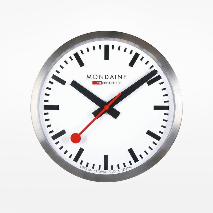Swiss Railway Wall Clock