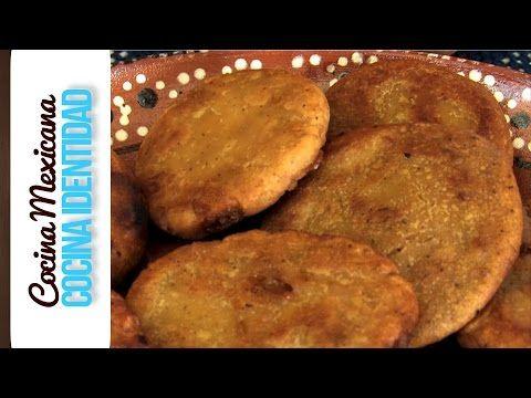 Antojitos Mexicanos: ¿Cómo hacer Gorditas de Piloncillo? Receta Mexicana, Yuri de Gortari - YouTube