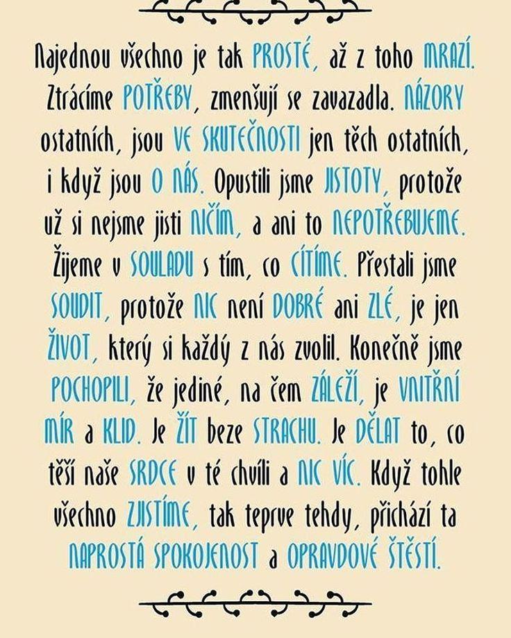 Když žijeme v souladu sami se sebou, pak přijde naprostá spokojenost a opravdové štěstí... Přejeme krásnou sobotu všem☕ #sloktepo #motivacni #hrnky #miluji #kafe #citaty #zivot #mujzivot #mojevolba #inspirace #domov #dokonalost #dobranalada #darek #stesti #laska #rodina #pozitivnimysleni #czech #czechboy #czechgirl #praha