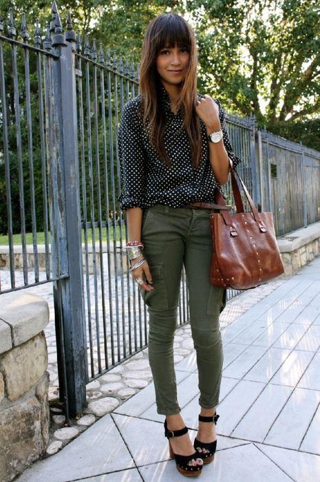 Idee wie man so eine grüne Hose kombiniert? - Seite 3 - Ich finde die farbe wunderschön, aber irgendwie fällt mir da nicht viel ein.... Ideen? ... - Forum - GLAMOUR