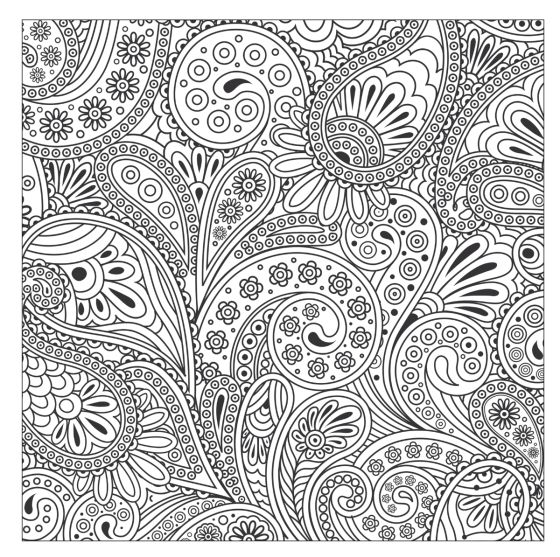 Paisley Pattern Colouring Sheets : 156 best flower coloring 2 images on pinterest