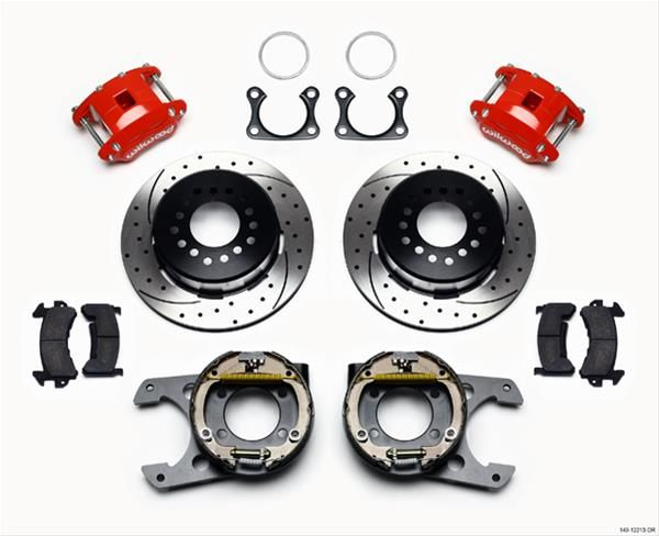 Find Wilwood Disc Brakes 140 12213 Dr Wilwood D154 Rear Parking Brake Kits And Get Free Shipping On Orders Over 99 At Summit Racing Wilw Red Jeep Bolt 2 Bolt
