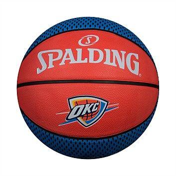 Rebel Sport - Spalding NBA Steven Adams Player Basketball Size 7