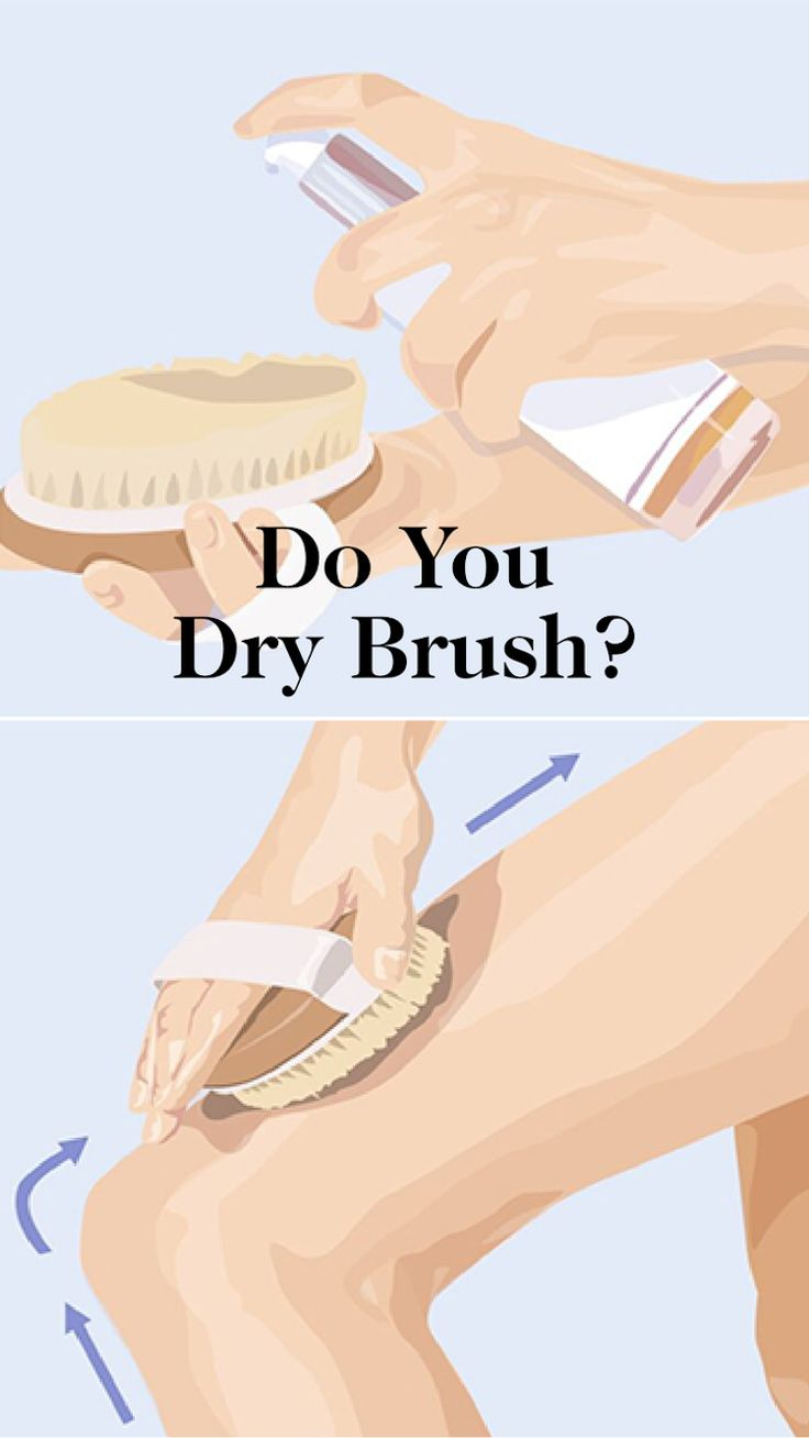 dry skin brushing benefits and instructions