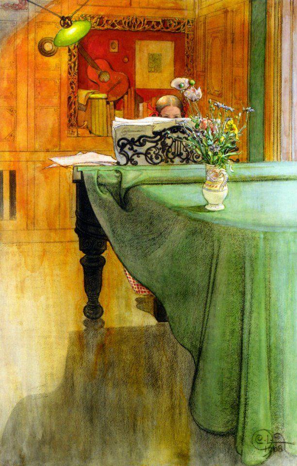 carl larsson flickr pix | Carl Larsson, 1908.