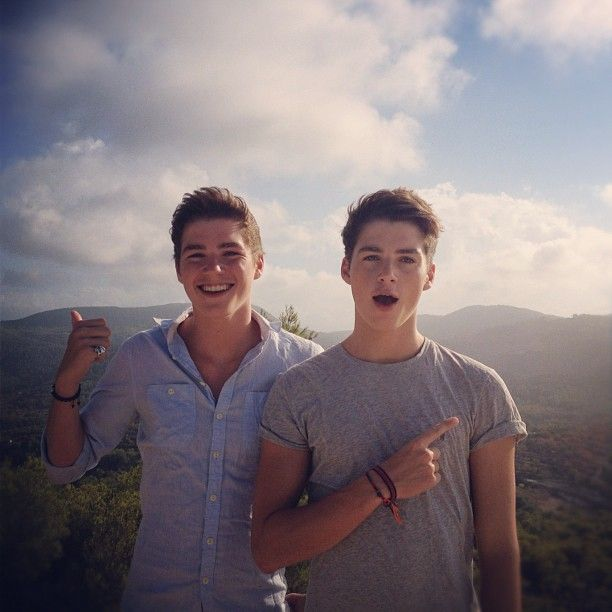 Jack and Finn Harries (;