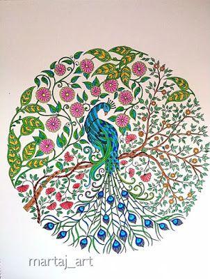 martaj_art: Secret Garden coloring book