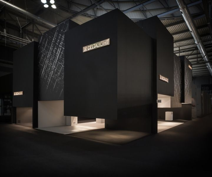 Best Stands Expo Milan : Delta light stand at euroluce milan italy retail