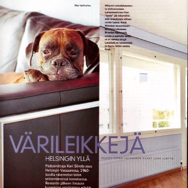 Kivisaarentie 3 at Avotakka magazine 2003