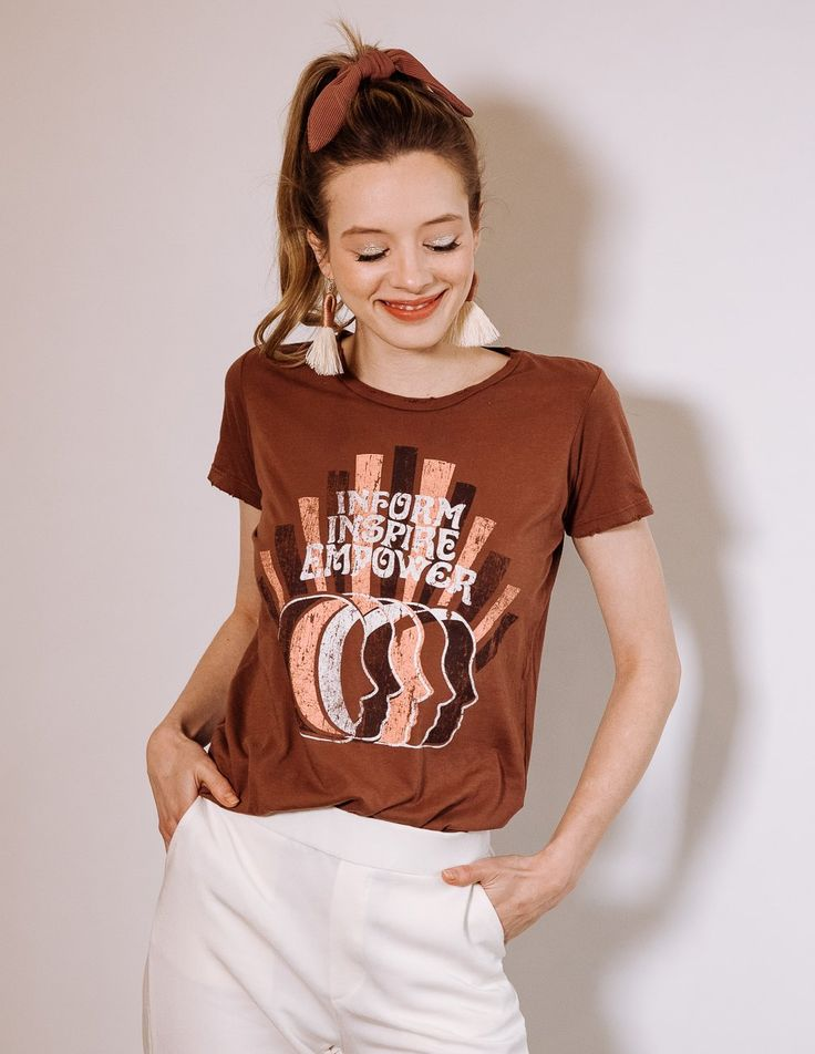 Empower Tee – Clay
