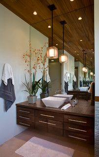 Talon's Crest - rustic - bathroom - salt lake city - by Phillips Development