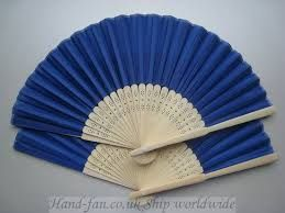 Image result for personalised hand fan yellow