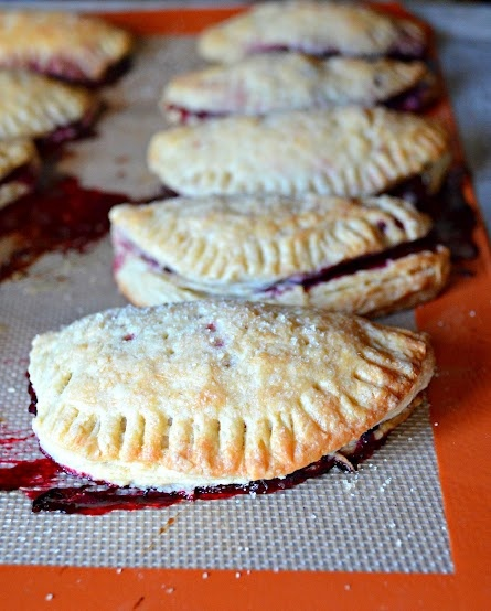 Serena Bakes Simply From Scratch: Flaky Blackberry Turnovers