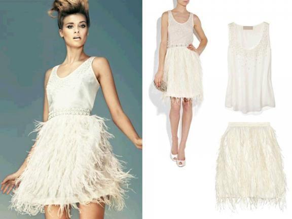Short Edgy Wedding Dresses