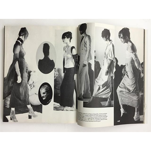 idea.ltd That is it. Martin Margiela's first show. This one incredible issue. Details March 1989. An amazine for sure. 111 pages of fashion collections, shows and street scenes by Bill Cunningham. 111 pages!! Email if you want@ideanow.online #billcunningham #details #1989 #margiela 2016/09/16 14:47:14