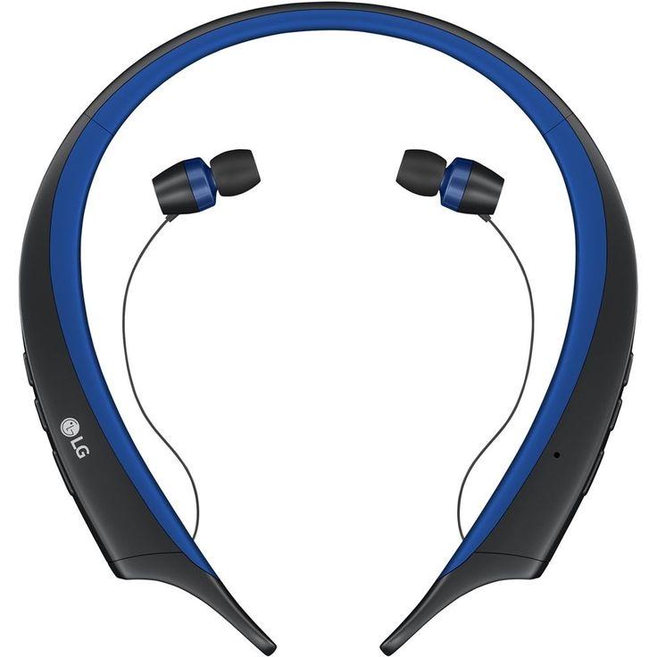 LG - Tone Active Wireless In-Ear Headphones - Blue