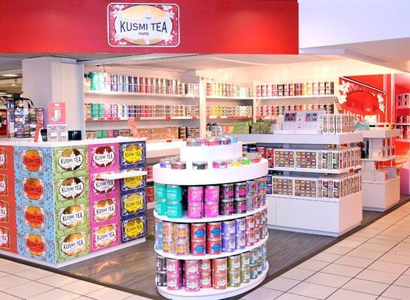 Kusmi Tea shop. http://www.paperblog.fr/3453109/kusmi-tea-aux-galeries-lafayette/