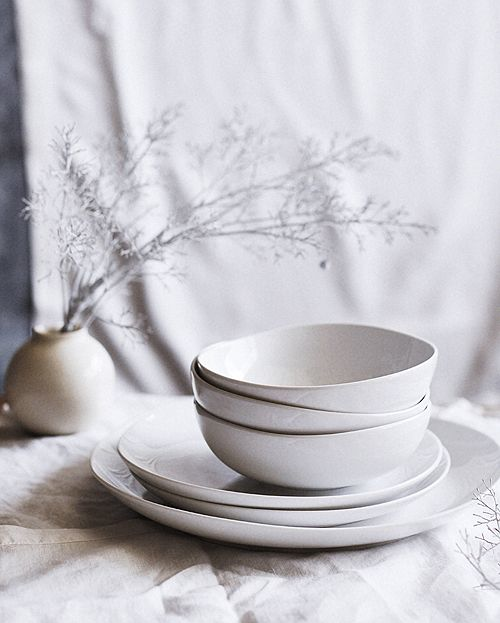 Organic-Shaped Dinnerware from west elm