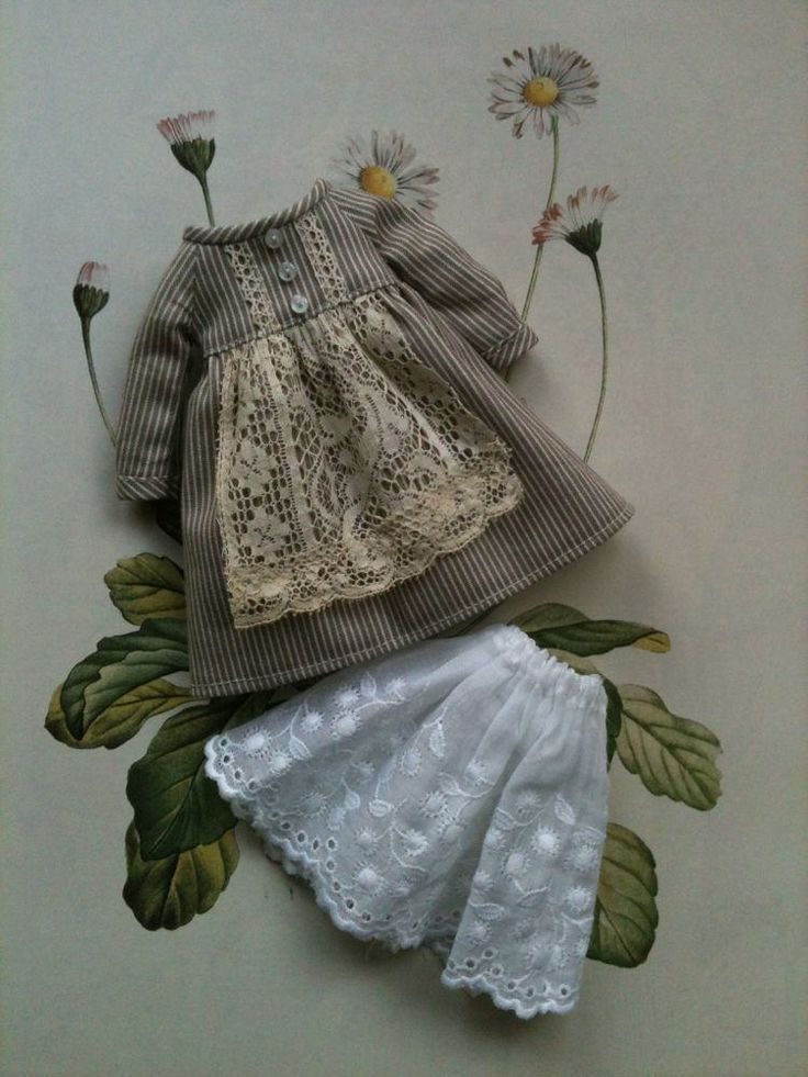Apron dress by little_moshi je reste sous le charme à chaque fois !